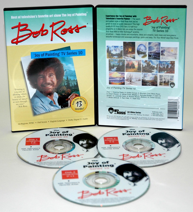 Ross DVD: Joy Of Painting Series 10, Featuring 13 Shows