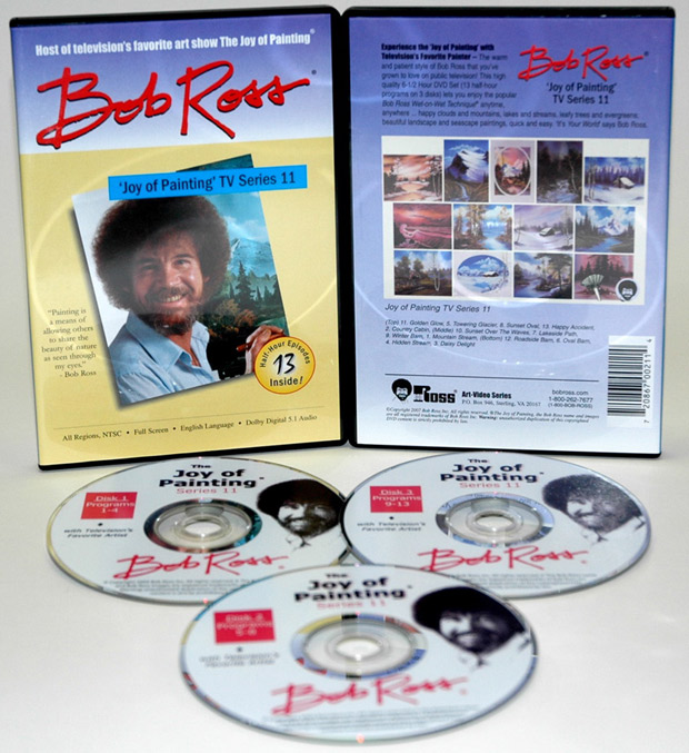 Ross DVD: Joy Of Painting Series 11, Featuring 13 Shows