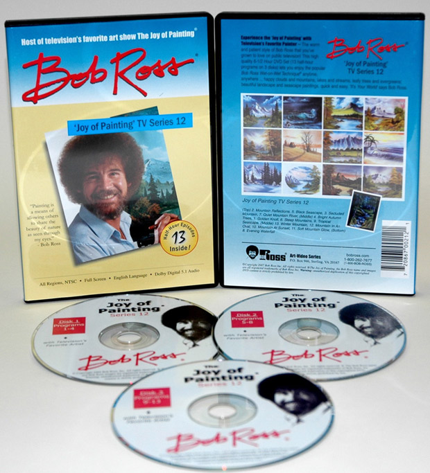 Ross DVD: Joy Of Painting Series 12, Featuring 13 Shows