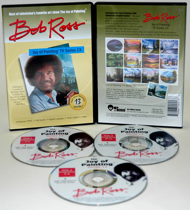Ross DVD: Joy Of Painting Series 13, Featuring 13 Shows
