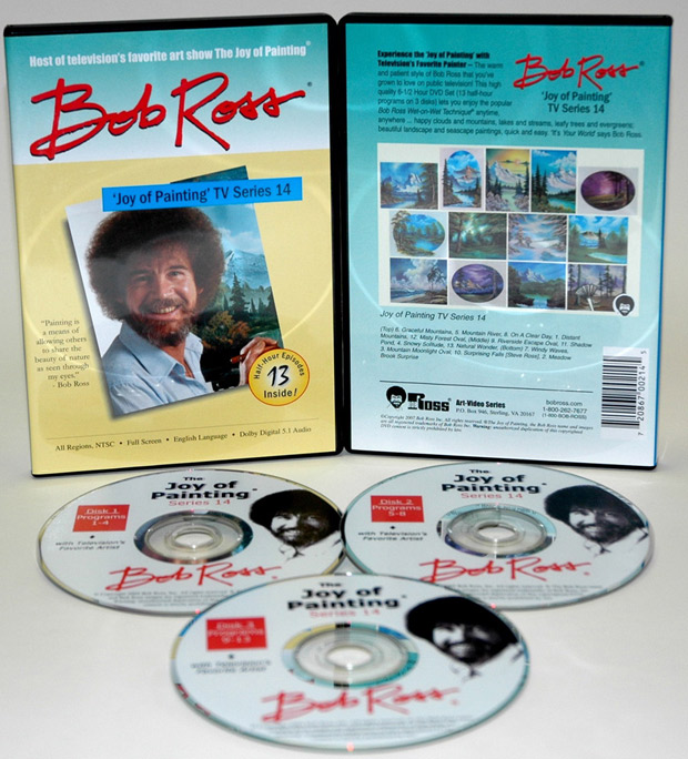 Ross DVD: Joy Of Painting Series 14, Featuring 13 Shows