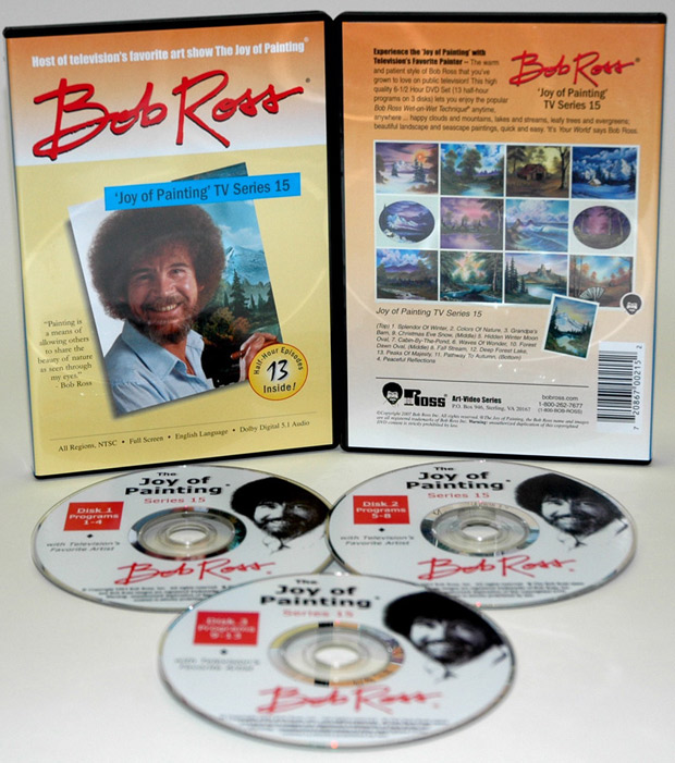 Ross DVD: Joy Of Painting Series 15, Featuring 13 Shows