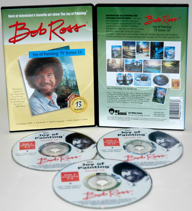 Ross DVD: Joy Of Painting Series 16, Featuring 13 Shows