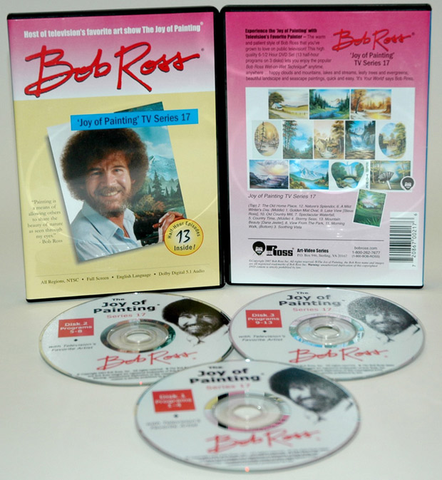 Ross DVD: Joy Of Painting Series 17, Featuring 13 Shows