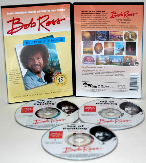 Ross DVD: Joy Of Painting Series 18, Featuring 13 Shows