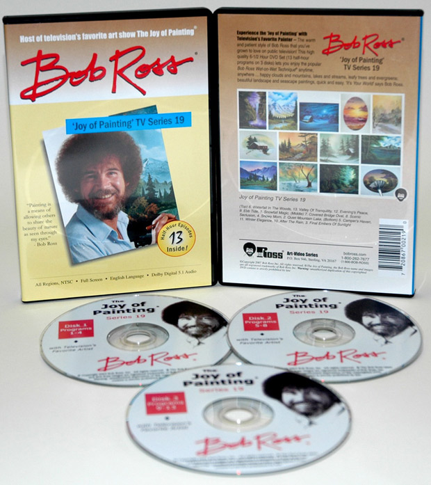 Ross DVD: Joy Of Painting Series 19, Featuring 13 Shows