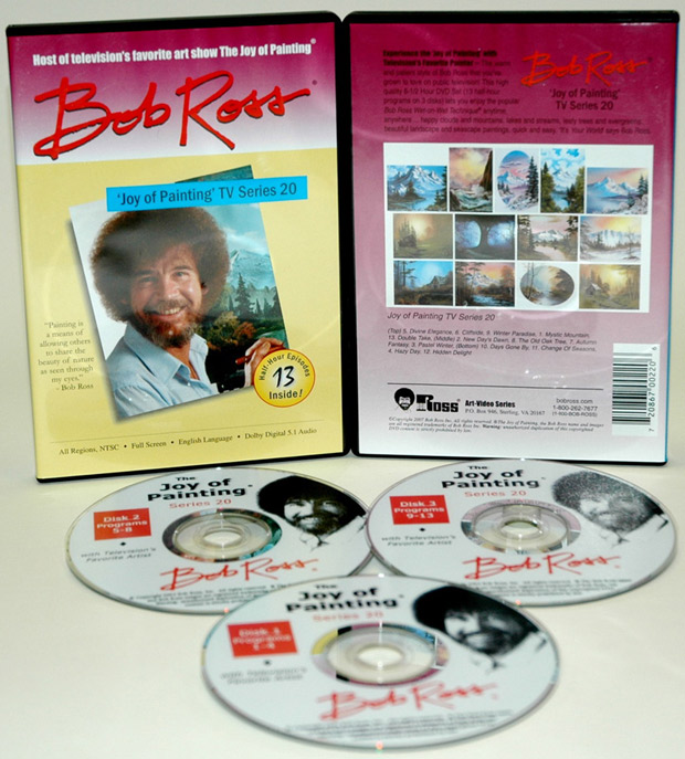 Ross DVD: Joy Of Painting Series 20, Featuring 13 Shows