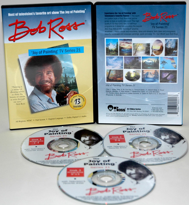 Ross DVD: Joy Of Painting Series 21, Featuring 13 Shows