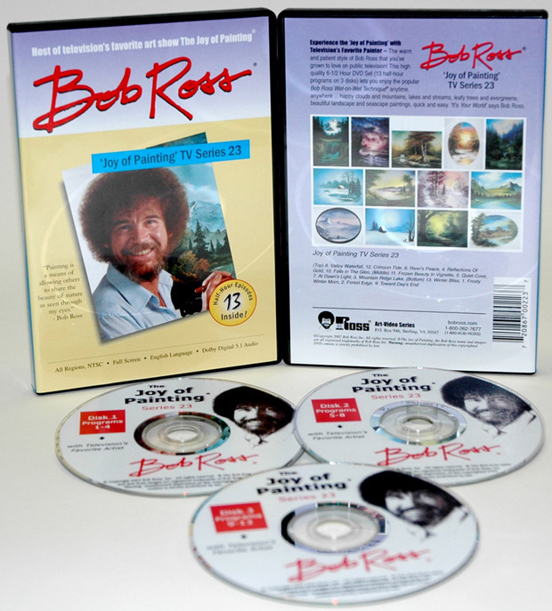 Ross DVD: Joy Of Painting Series 23, Featuring 13 Shows