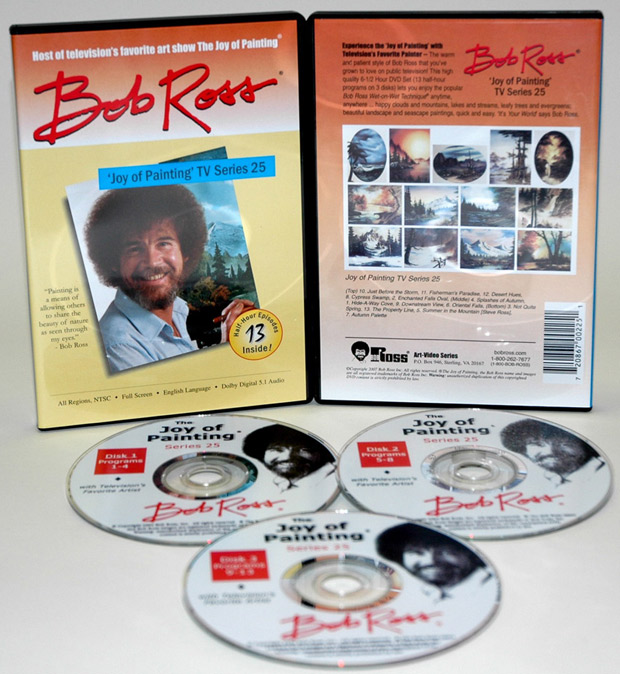 Ross DVD: Joy Of Painting Series 25, Featuring 13 Shows