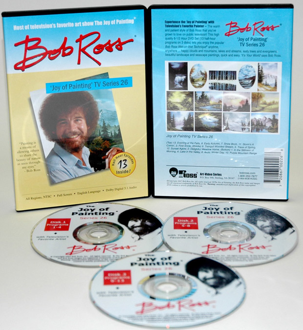 Ross DVD: Joy Of Painting Series 26, Featuring 13 Shows