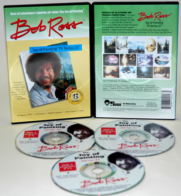 Ross DVD: Joy Of Painting Series 27, Featuring 13 Shows