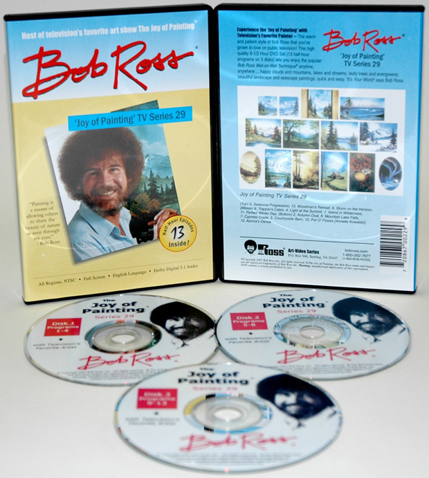 Ross DVD: Joy Of Painting Series 29, Featuring 13 Shows