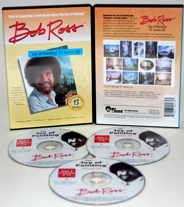 Ross DVD: Joy Of Painting Series 30, Featuring 13 Shows