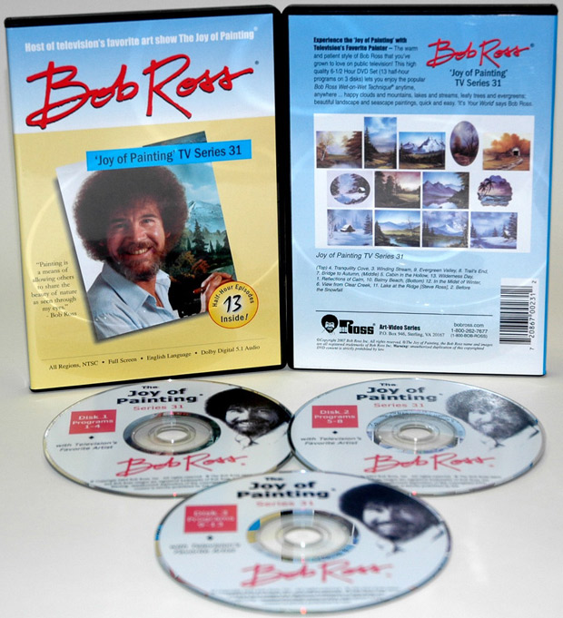 Ross DVD: Joy Of Painting Series 31, Featuring 13 Shows