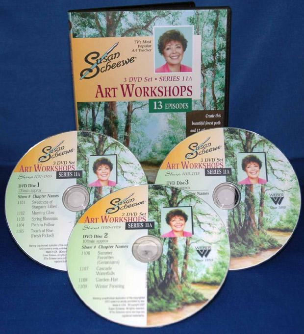 Scheewe Art Workshop: 3 DVD Set Series 11A, 13 Episodes