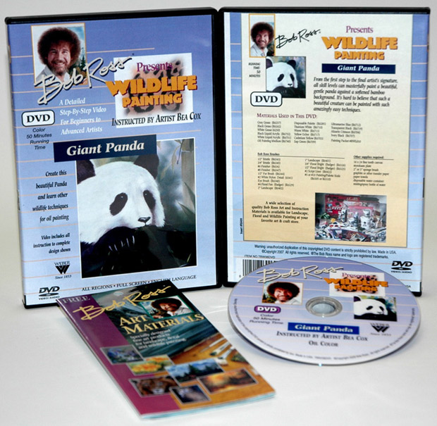 Ross DVD Wildlife Painting: Giant Panda, 50 Minute