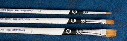 Professional Permalba Brush: #10, Filbert