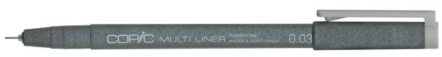 Copic Disposable Multiliner Pen: Brown, 0.3mm