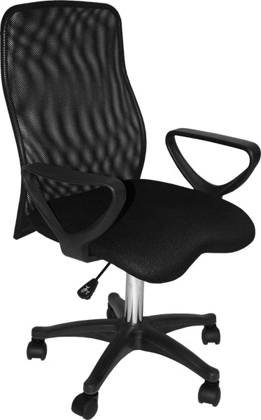 Comfort-Mesh Executive Desk Chair Black: Model # 91-02209115