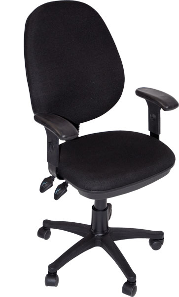 Grandeur Desk Height Chair Black: Model # 91-02609115