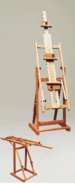 Weber Bologna Wooden Studio Easel