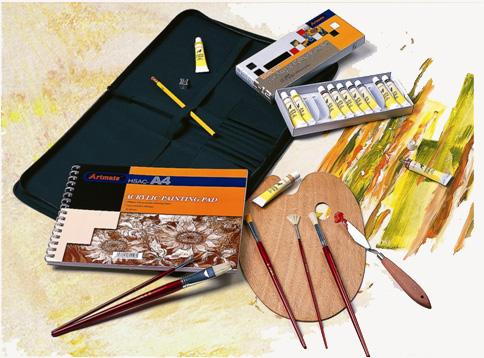 Martin Museum Complete Acrylic Media Art Kit