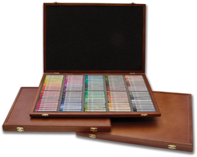 Gallery Semi-Hard Pastel 72 Wood Box