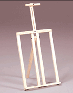 Prima Table Top Frame Easel - Natural Finish: Model # U-18N