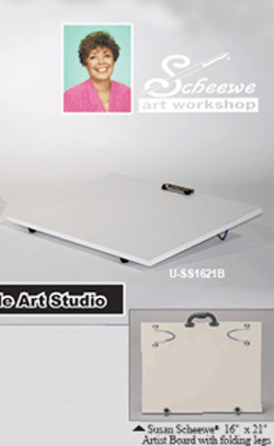 Susan Scheewe Portable Art Studio: 16 x 21 inches, Model # U-SS1621B