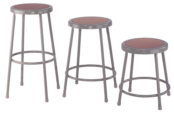 "National Public Seating Corp 24"" Basic Stool"