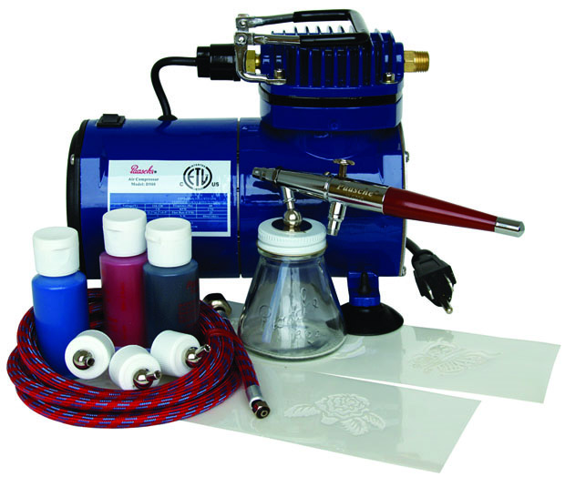 Paasche BTS-SET Starter Tattoo Set with D100 Air Compressor (1/8 hp.)