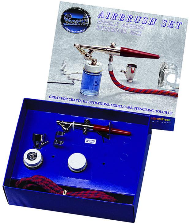Paasche F-SET Single Action Airbrush Set