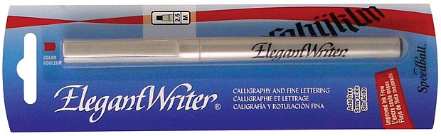 Speedball Elegant Writer Calligraphy Marker: Medium, Black, Individual Marker