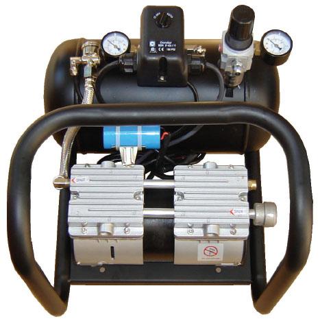 Silentaire AMP 50-8-TC Quiet Running Airbrush Compressor: Oil Free