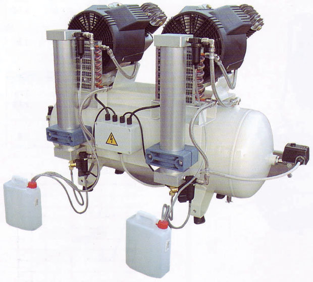 Silentaire DA 3 Tandem Silent Airbrush Compressor: Oil ...