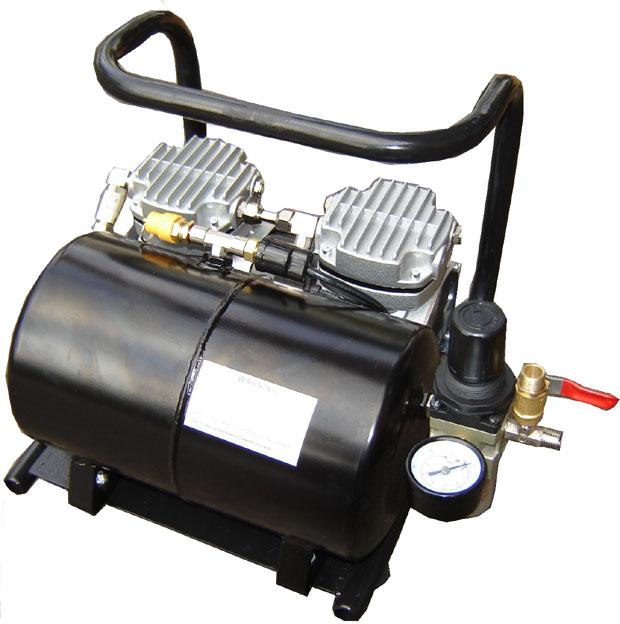 Silentaire Scorpion IIW-TT Ultra Quit Airbrush Compressor