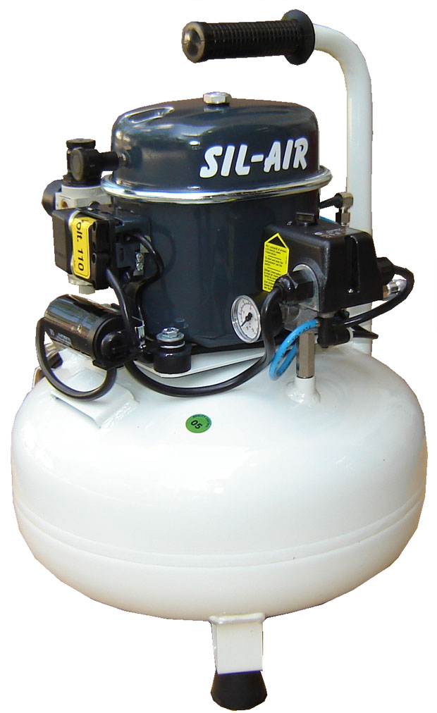 Silentaire Sil-Air 50-24 Silent Running Airbrush Compressor