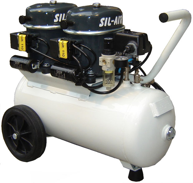 Silentaire Sil-Air 100-24 Silent Running Airbrush Compressor