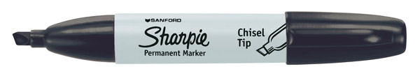 Sharpie Chisel Point Permanent Marker Black
