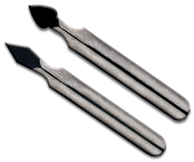 Inovart Scratch Knife - Arrow Shaped For Fine Line And Detail - 12 per pack