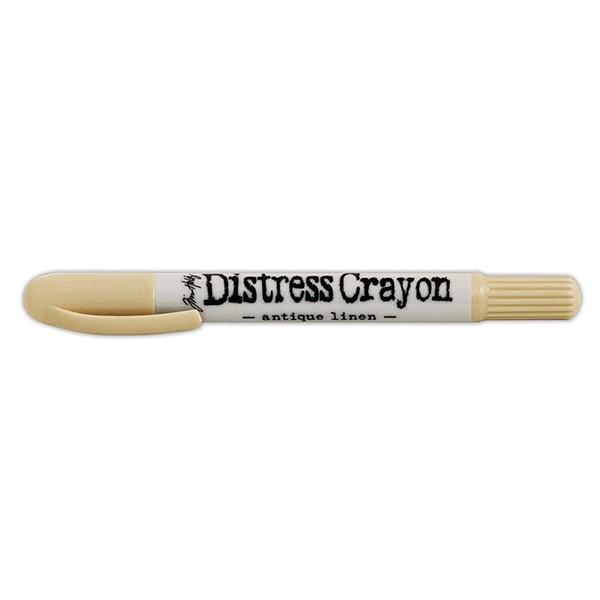 Ranger - Tim Holtz - Distress - Crayons - Open Stock - Antique Linen