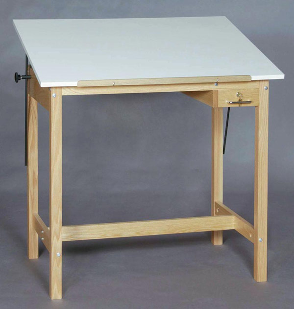 SMI Unfinished 36 x 48 4-Post Table