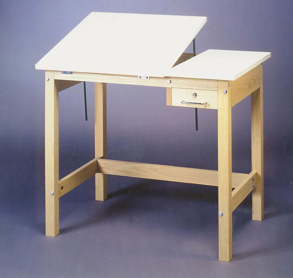 SMI Unfinished 36 x 48 Split-Top Table