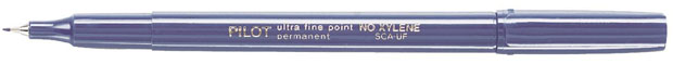 Pilot® Extra Fine Point Permanent Marker: Blue