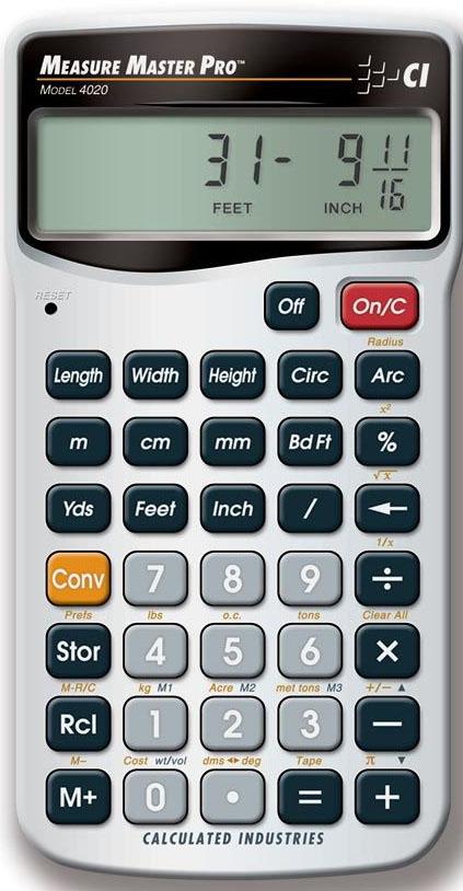 Measure Master® Pro: 4020