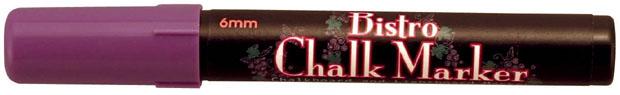 Marvy® Bistro Chalkboard And Light Board Marker: Violet
