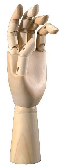 Heritage™ Male Hand Mannequin: 12 Male Left