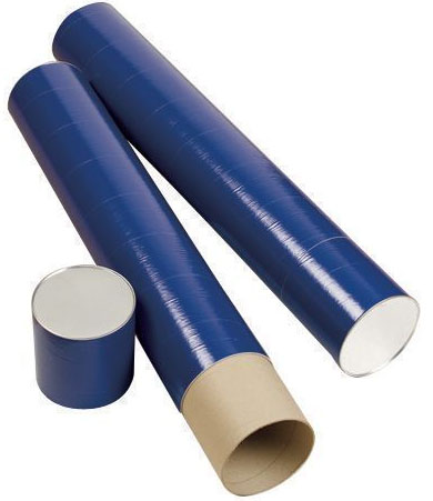 Alvin T420-25 Fiberboard Tube: Telescope 25 in Length X 6 Inches Inside Diameter, Blue