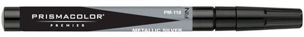 Prisma Color Marker: Metallic Silver Fine